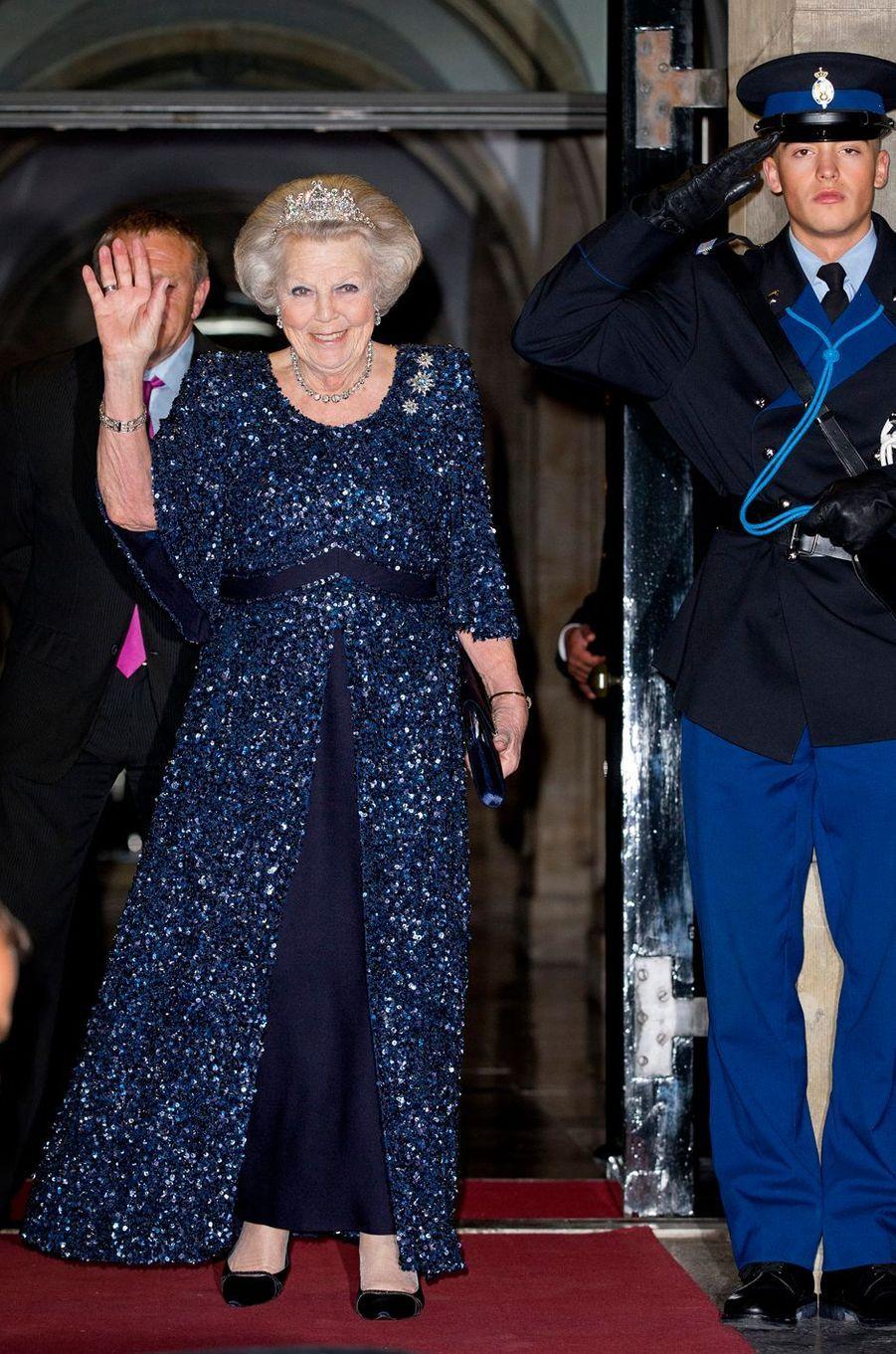 La princesse Beatrix des Pays-Bas à Amsterdam, le 19 mai 2016