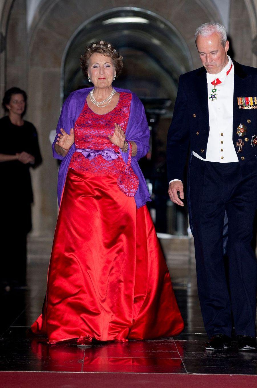 La princesse Margriet des Pays-Bas à Amsterdam, le 19 mai 2016