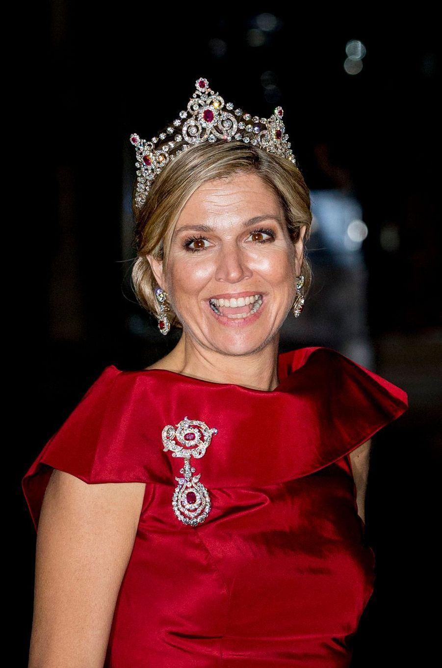 La reine Maxima des Pays-Bas à Amsterdam, le 19 mai 2016