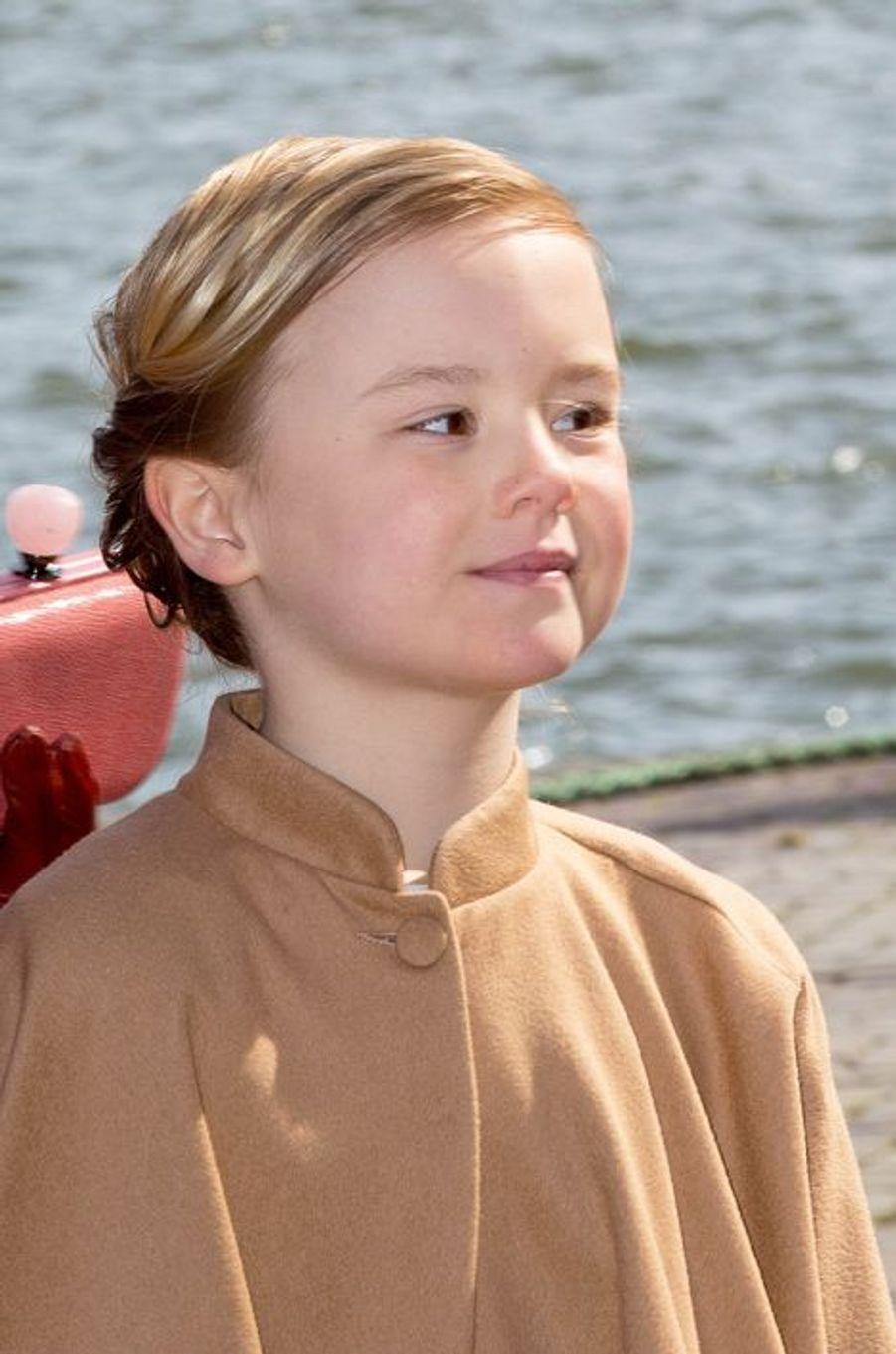 La princesse Ariane des Pays-Bas, le 27 avril 2015