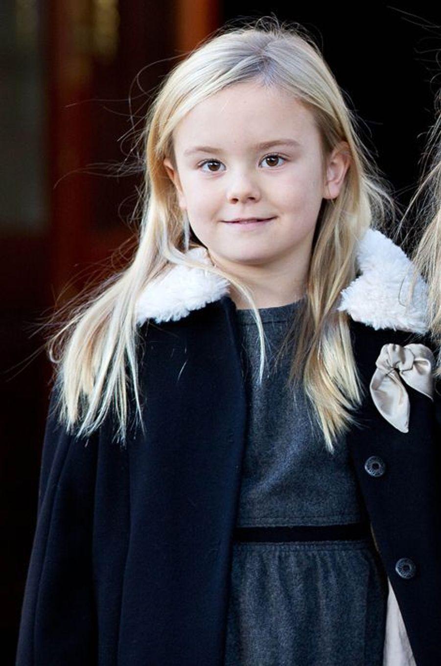 La princesse Ariane des Pays-Bas, le 9 novembre 2014