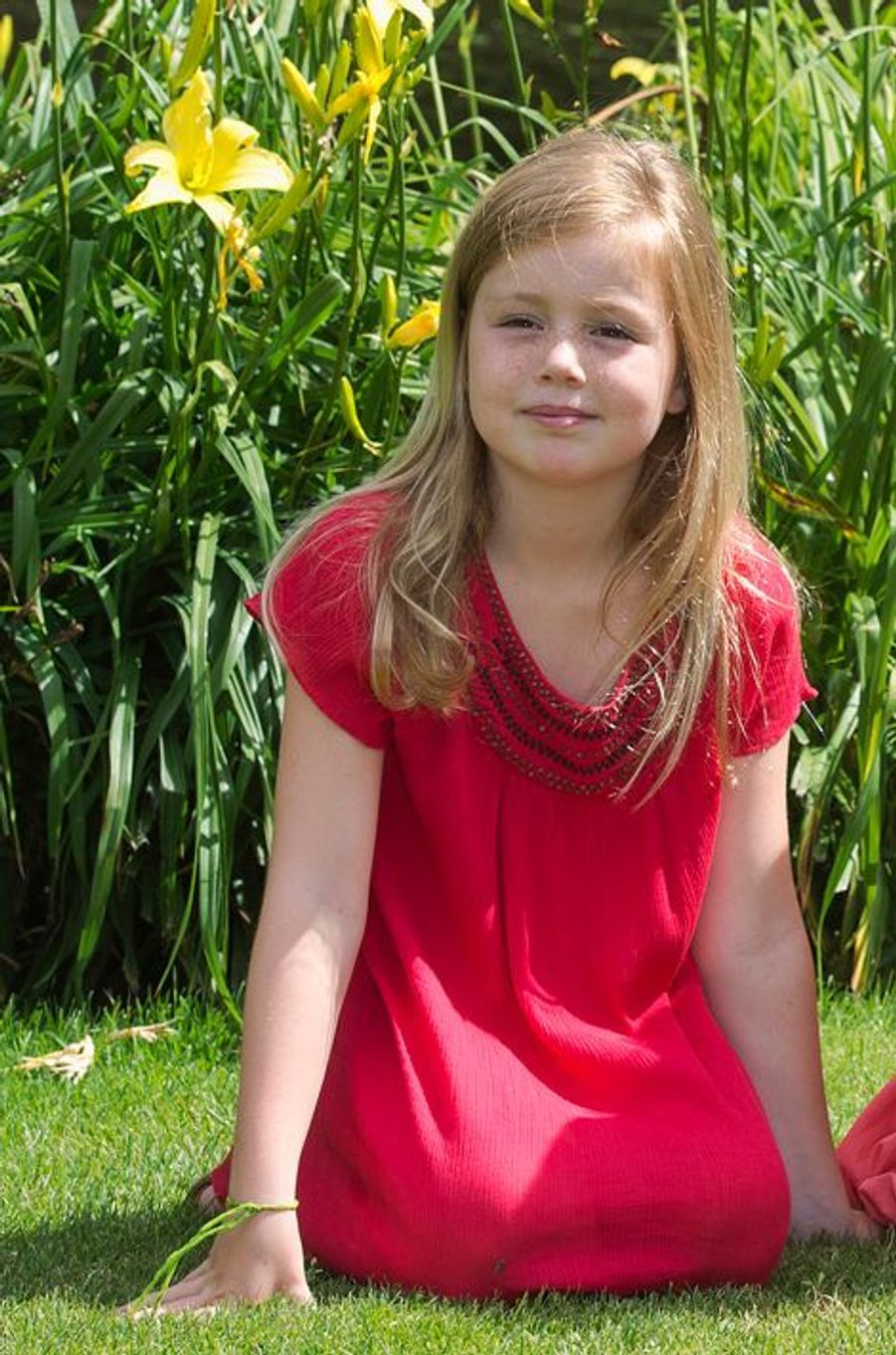 La princesse Alexia, le 19 juillet 2013