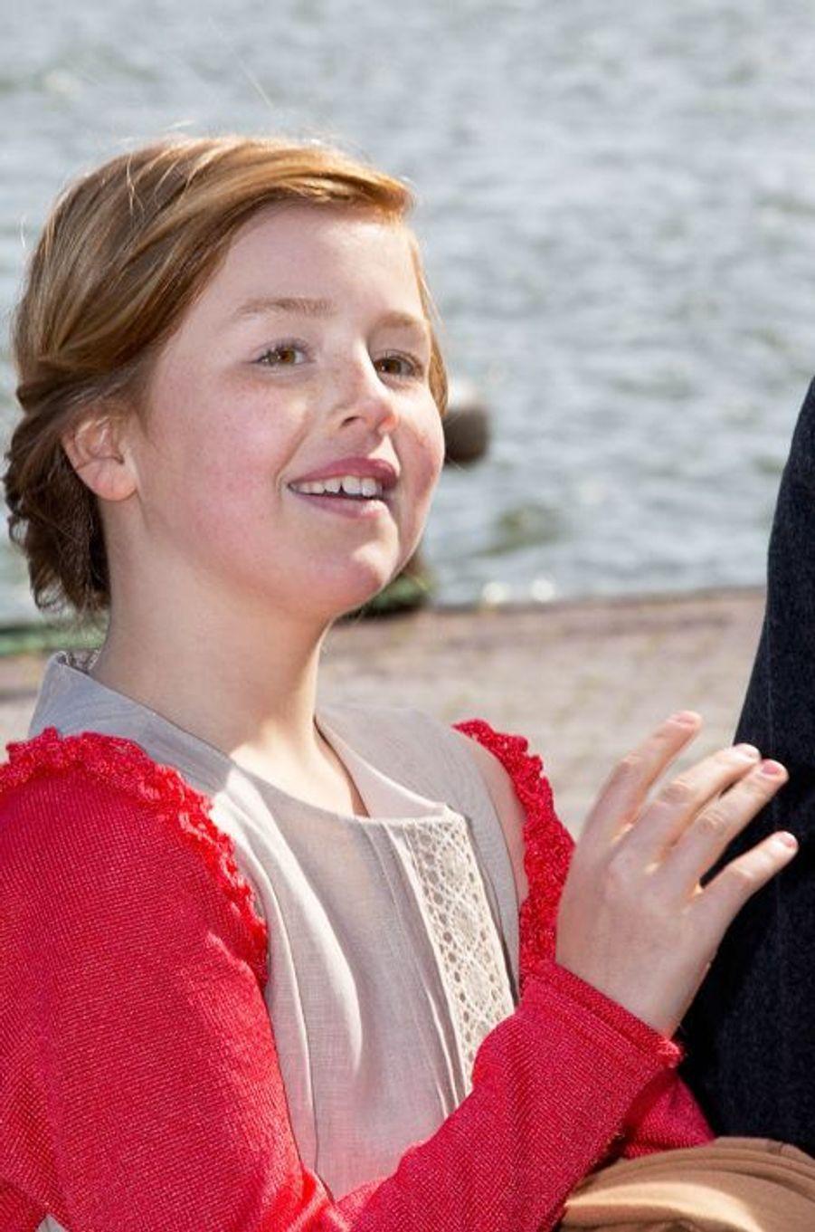 La princesse Alexia, le 27 avril 2015