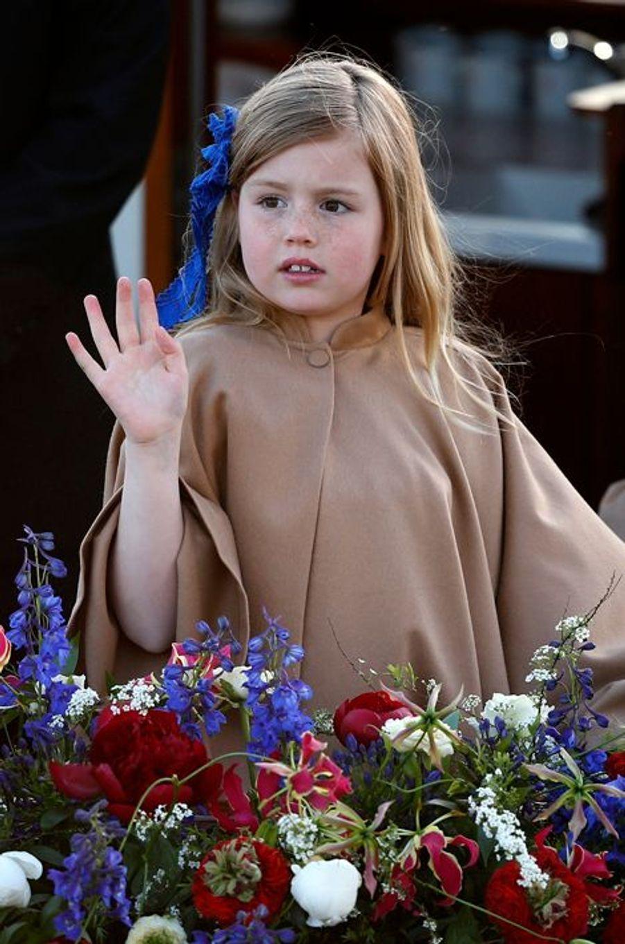 La princesse Alexia, le 30 avril 2013