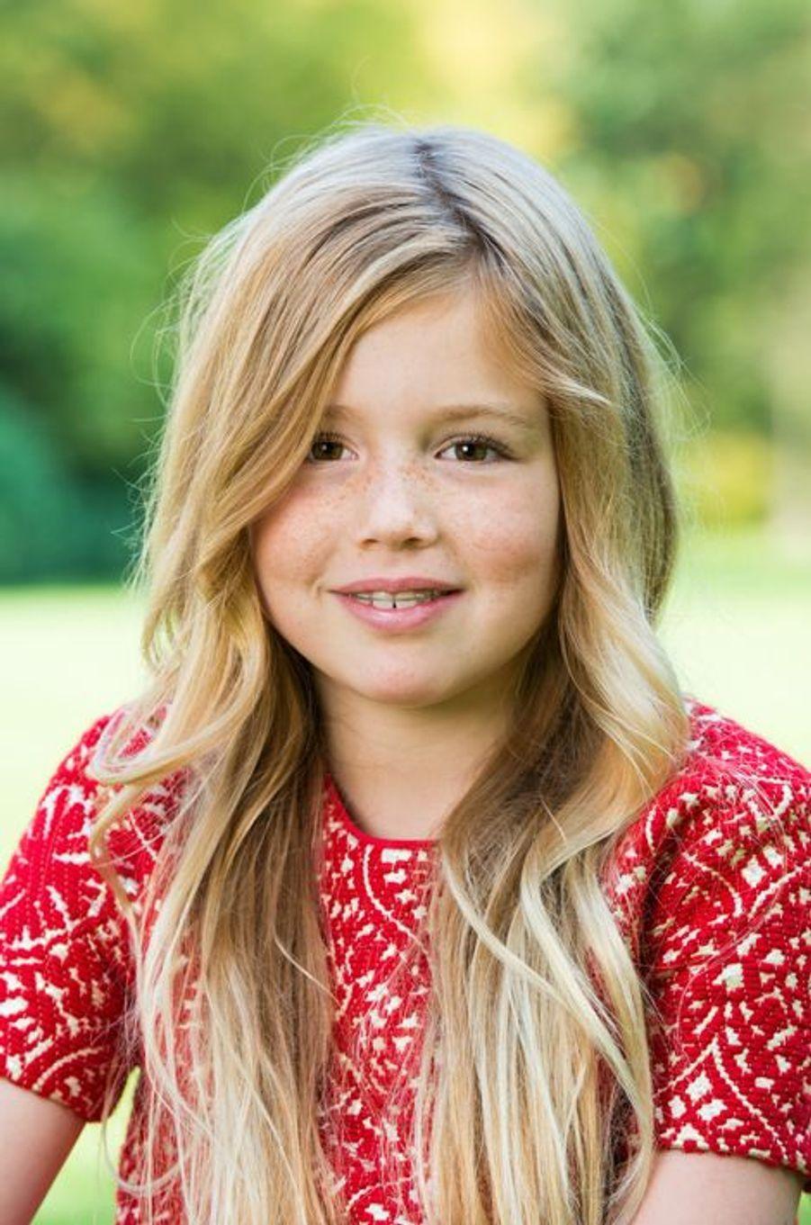 La princesse Alexia, le 5 décembre 2014
