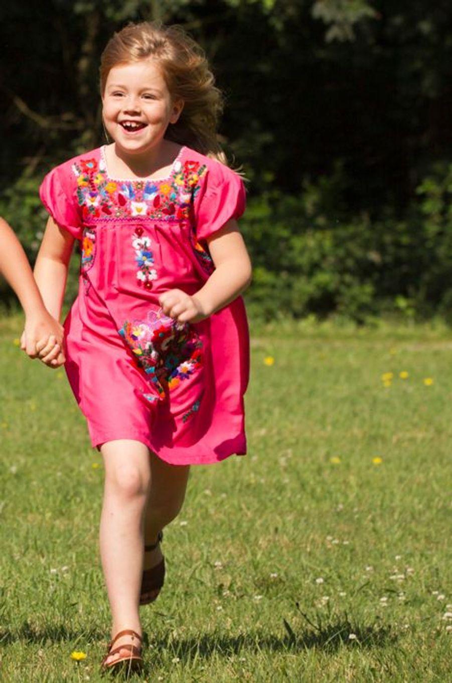 La princesse Alexia, le 7 juillet 2012
