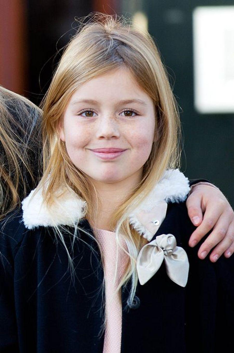La princesse Alexia, le 9 novembre 2014