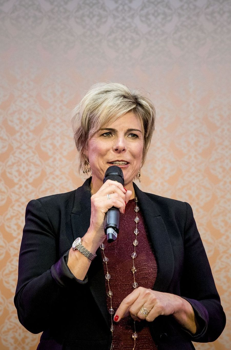 La princesse Laurentien des Pays-Bas à La Haye, le 3 octobre 2017