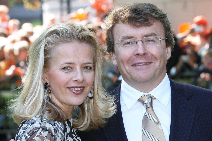 La princesse Mabel et le prince Friso d'Orange-Nassau, le 30 avril 2009