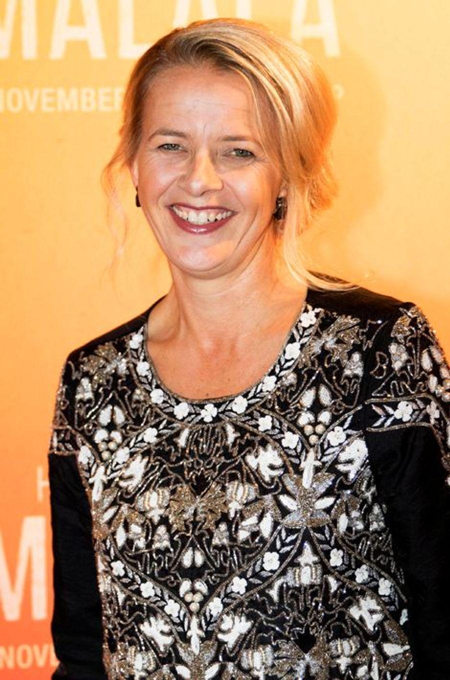 La princesse Mabel des Pays-Bas à Hilversum, le 1er novembre 2015