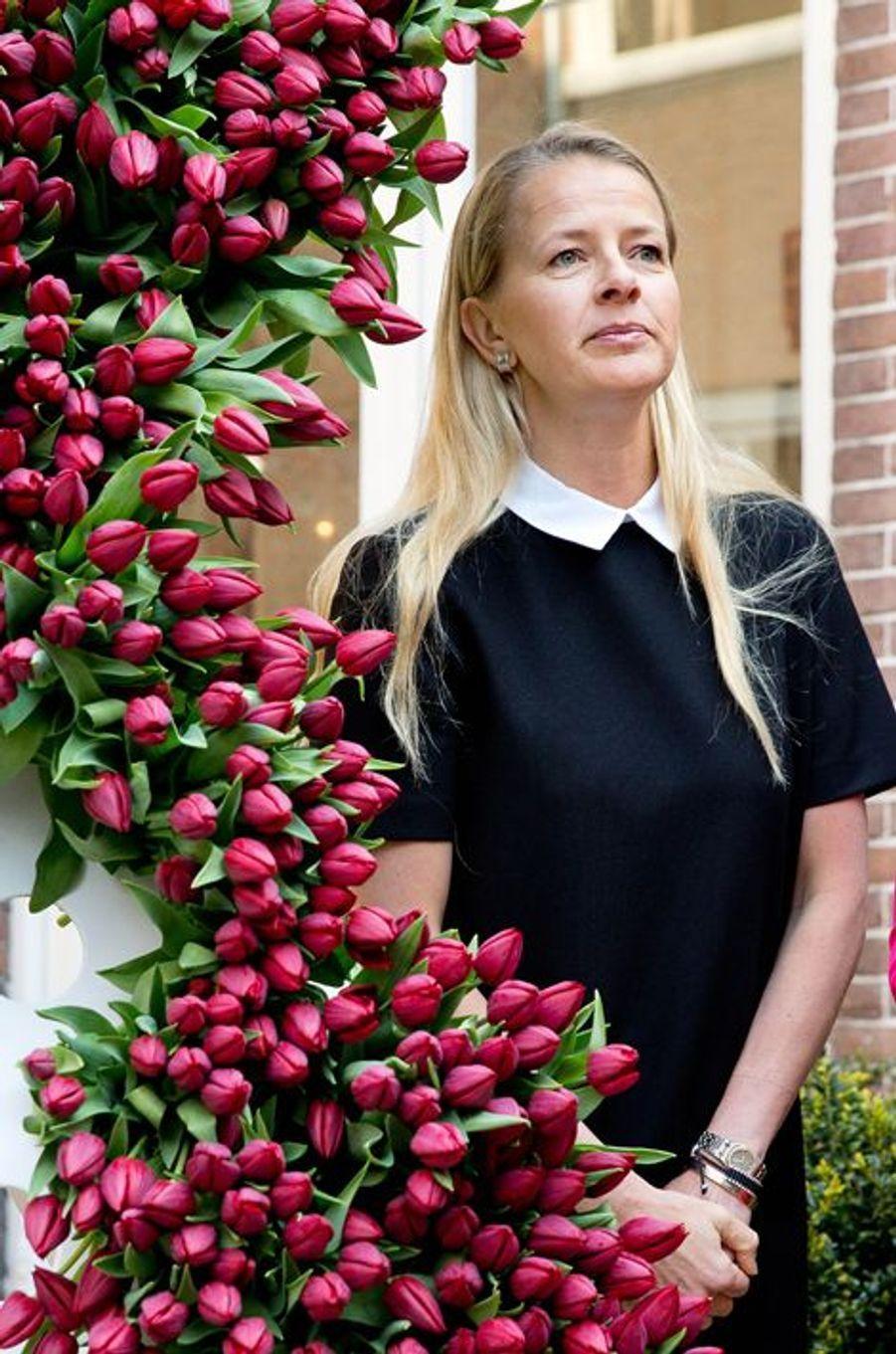 La princesse Mabel des Pays-Bas à La Haye, le 9 avril 2015