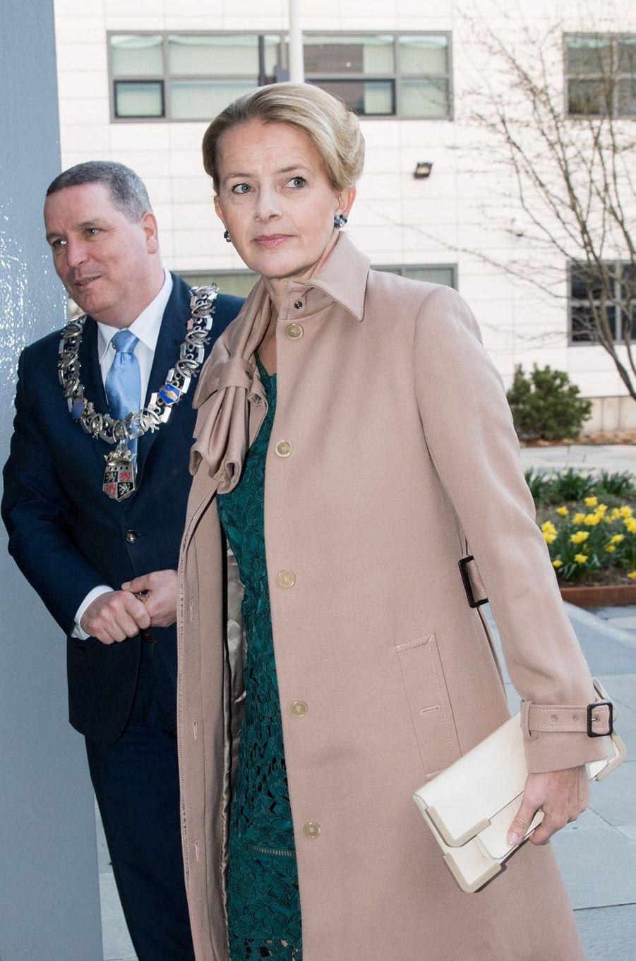 La princesse Mabel d'Oranje-Nassau à Veldhoven, le 18 mars 2019