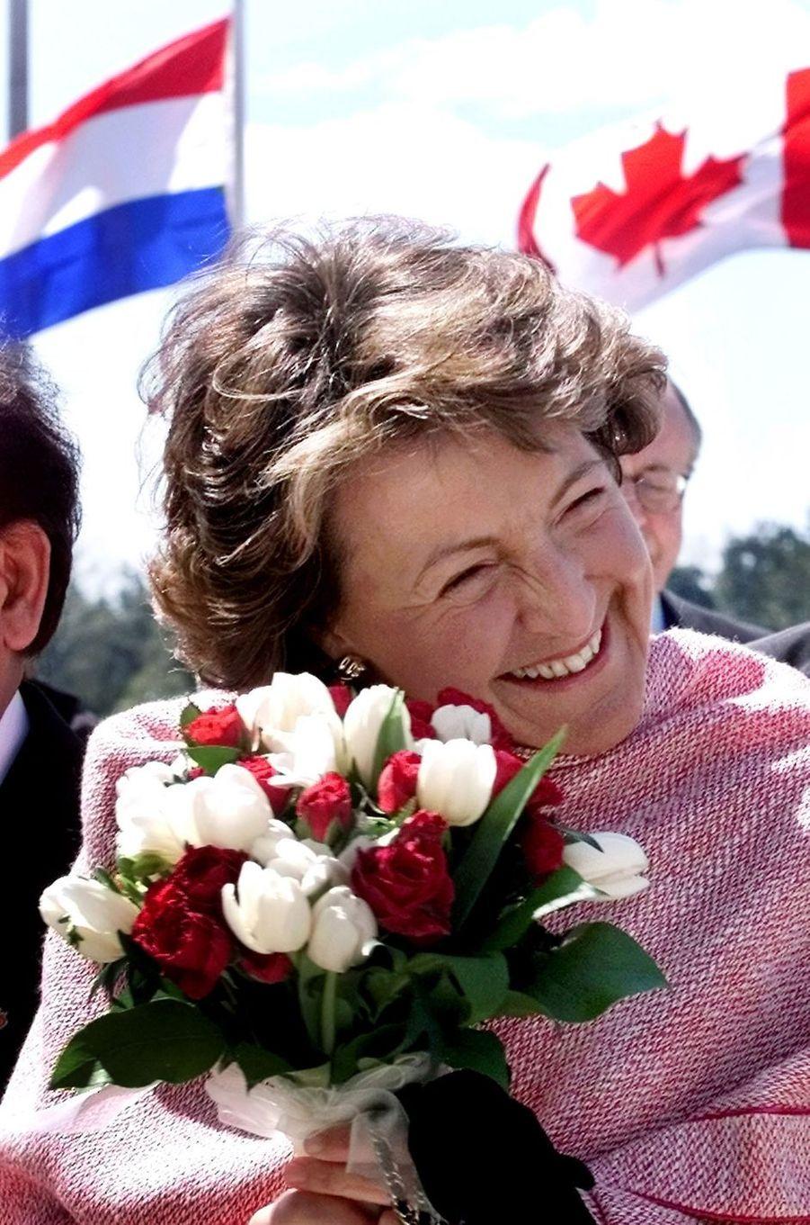 La princesse Margriet des Pays-Bas, le 11 mai 2002