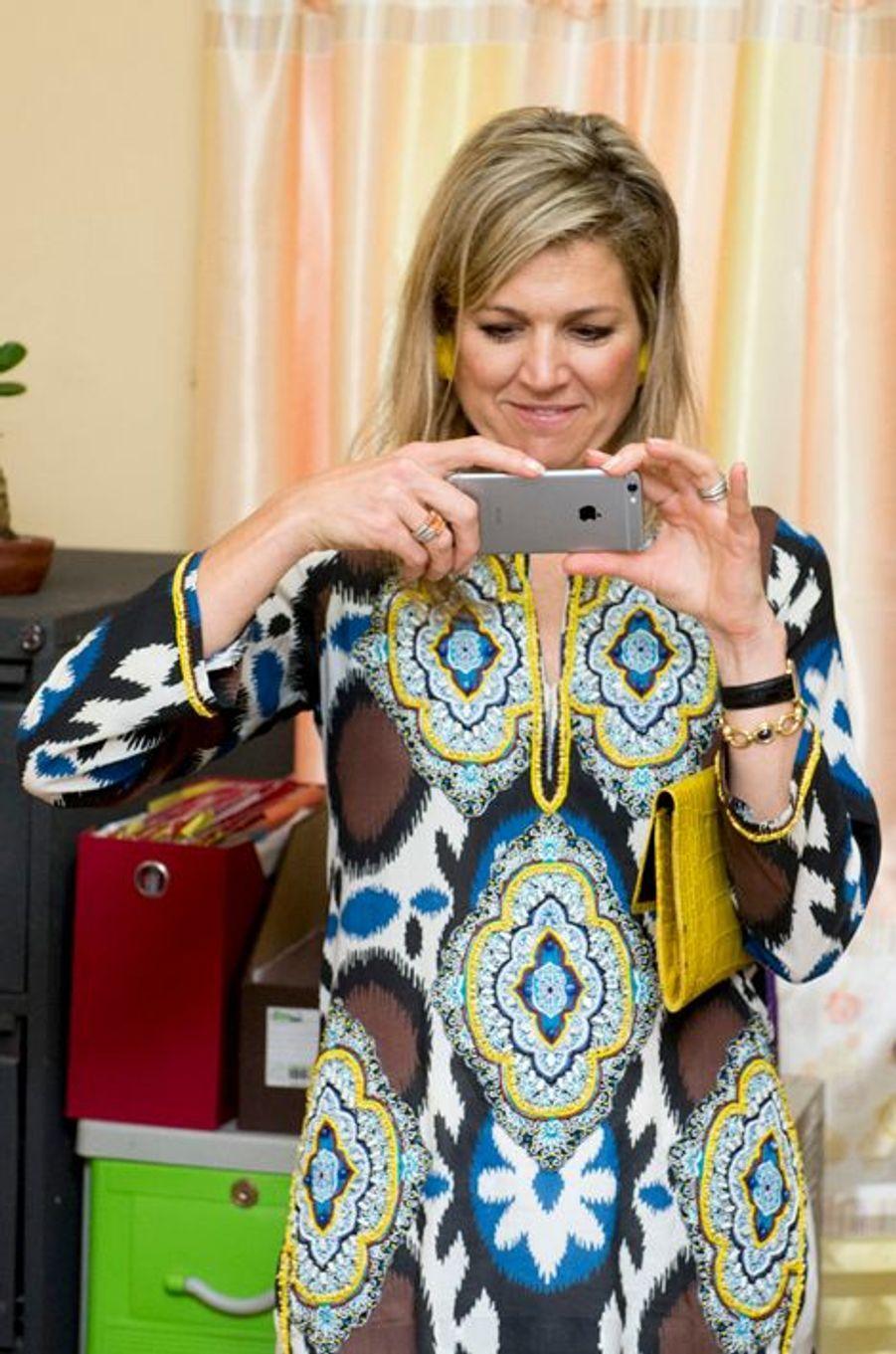 La reine Maxima des Pays-Bas à Tagaytay, le 30 juin 2015