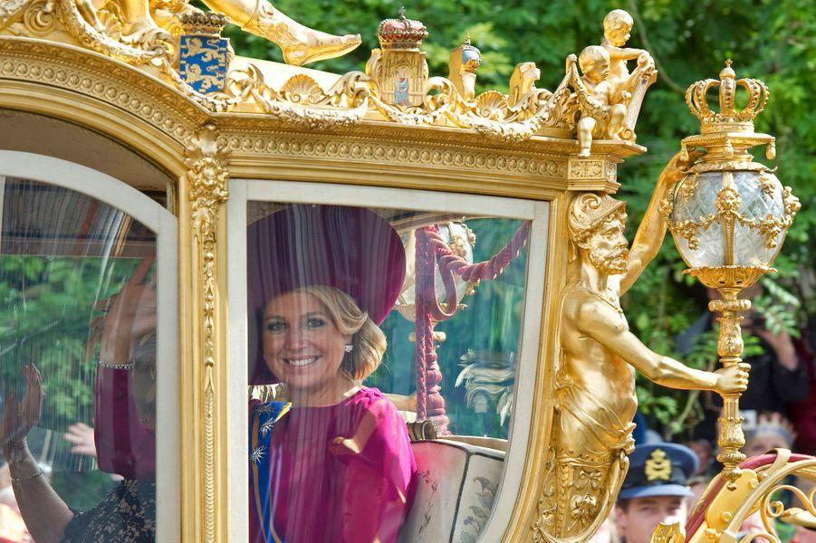 La princesse Maxima des Pays-Bas, le 18 septembre 2012