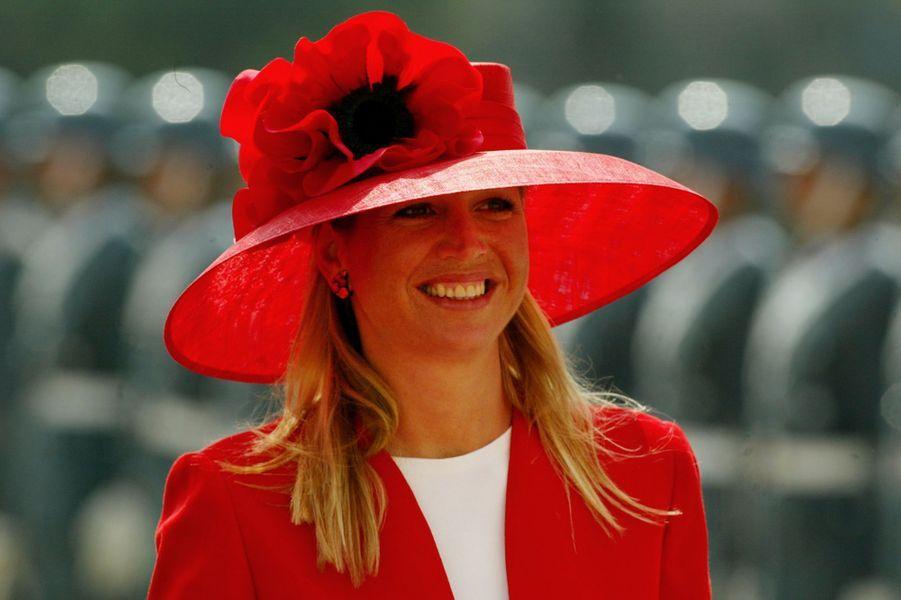 La princesse Maxima des Pays-Bas, le 19 mars 2003