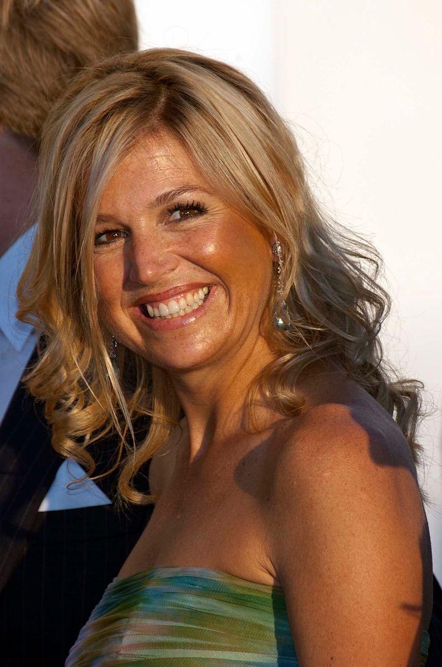 La princesse Maxima des Pays-Bas, le 25 août 2010