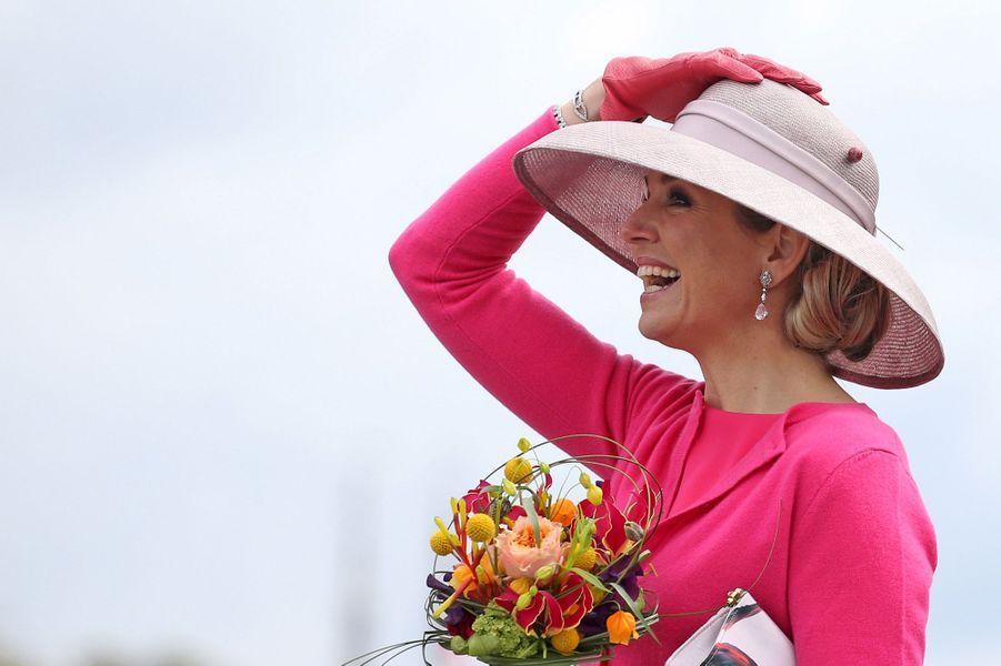 La reine Maxima des Pays-Bas, le 27 avril 2016