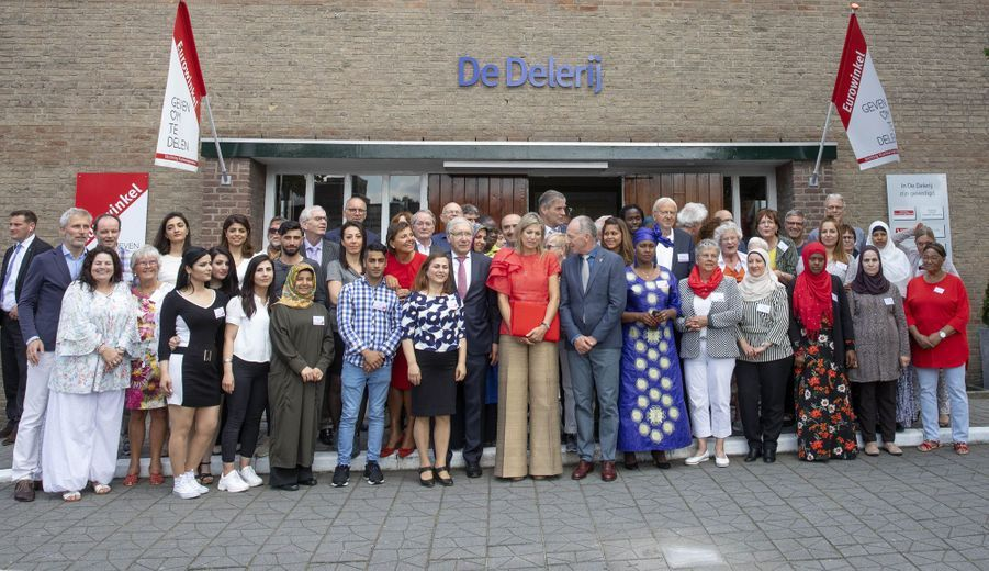La reine Maxima des Pays-Bas à Driebergen-Rijsenburg, le 20 juin 2019