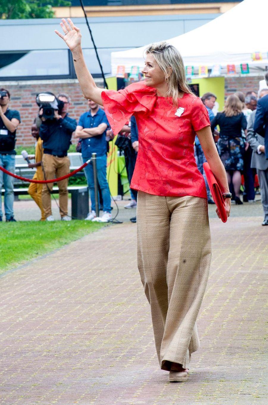 La reine Maxima des Pays-Bas à Hoogeveen, le 20 juin 2019