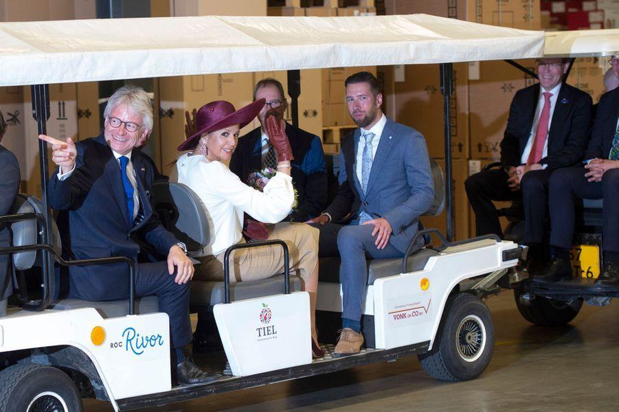 La reine Maxima et le roi Willem-Alexander des Pays-Bas à Tiel en Betuwe, le 29 mai 2019