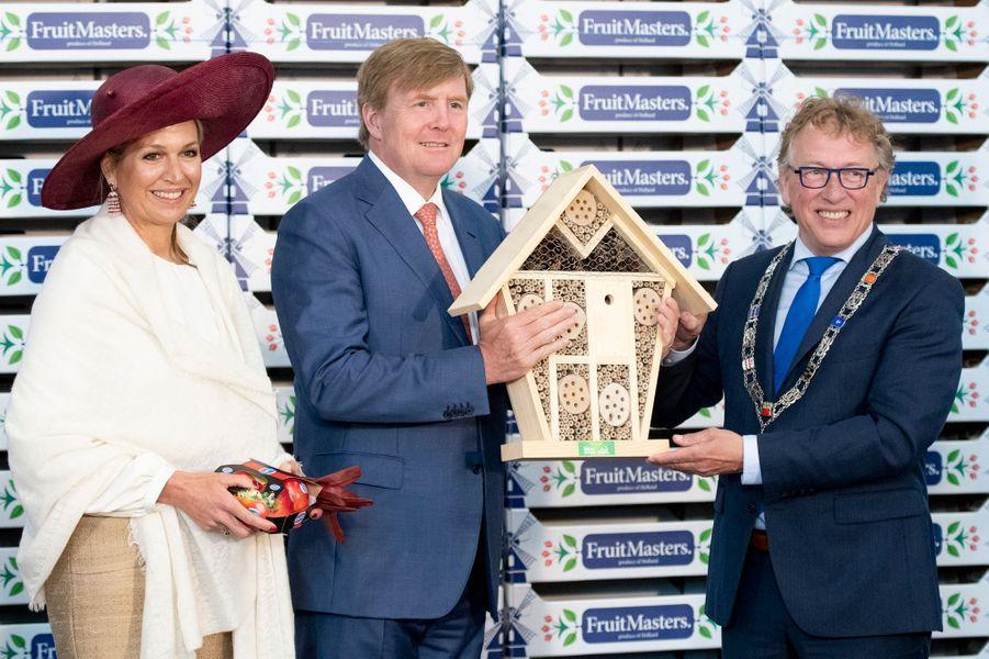 La reine Maxima et le roi Willem-Alexander des Pays-Bas en Betuwe, le 29 mai 2019