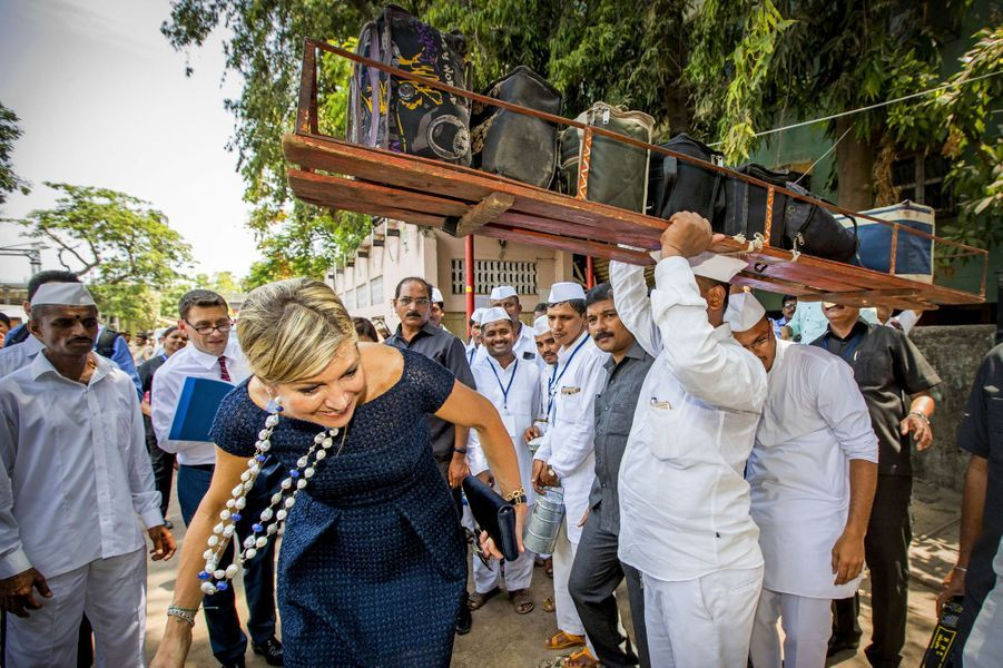 La reine Maxima des Pays-Bas à Mumbai, le 30 mai 2018