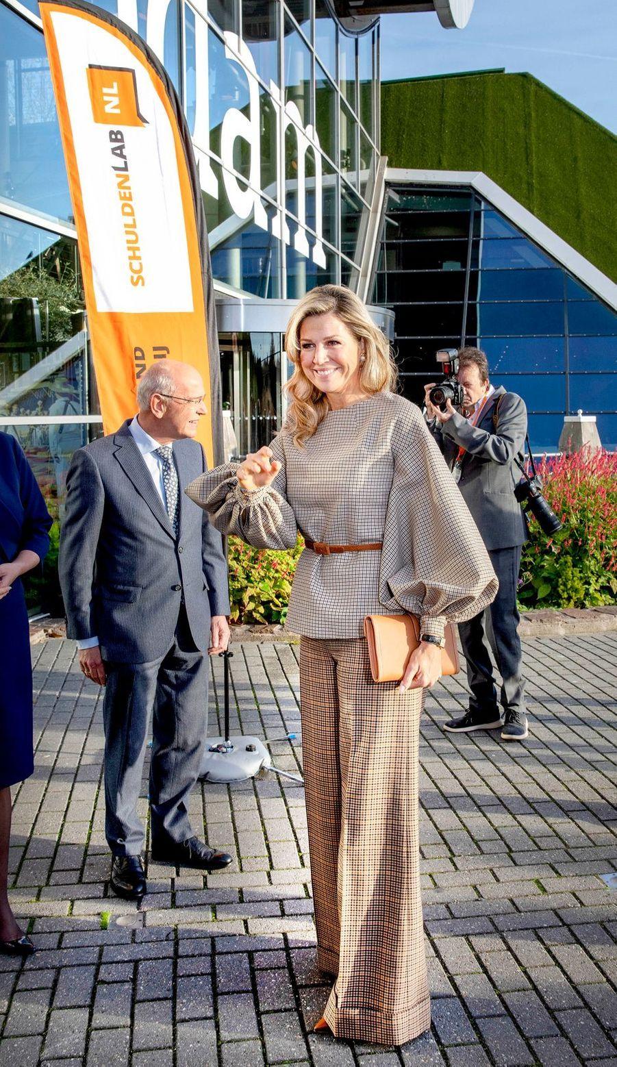 La reine Maxima des Pays-Bas, le 14 novembre 2018 à La Haye