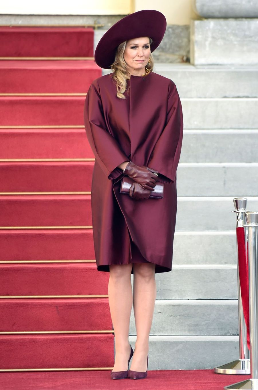 La reine Maxima des Pays-Bas à La Haye, le 14 novembre 2018