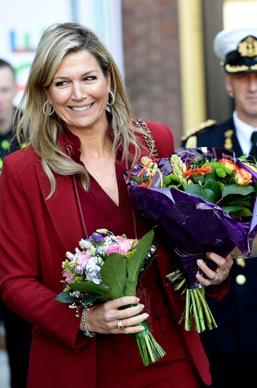 La reine Maxima des Pays-Bas à Utrecht, le 15 novembre 2018