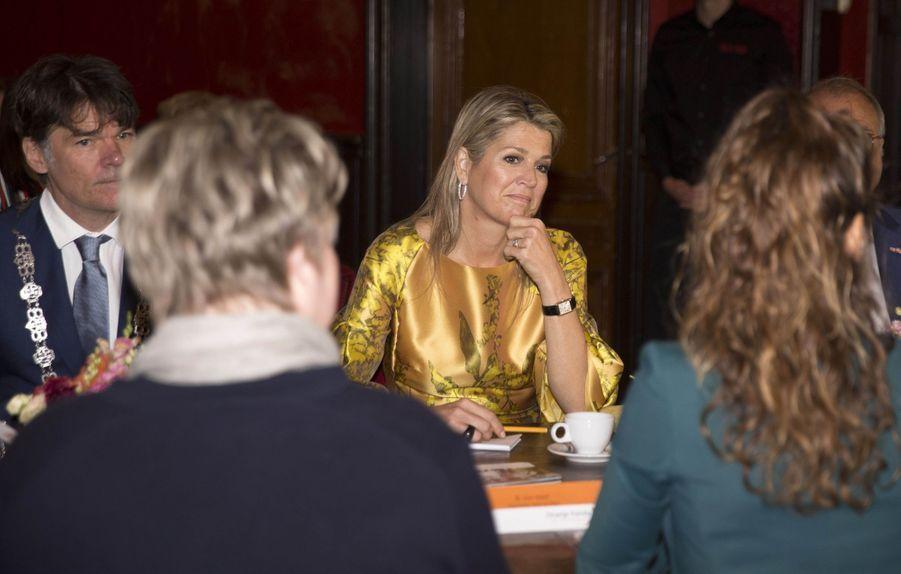 La reine Maxima des Pays-Bas à Breda, le 3 juillet 2019