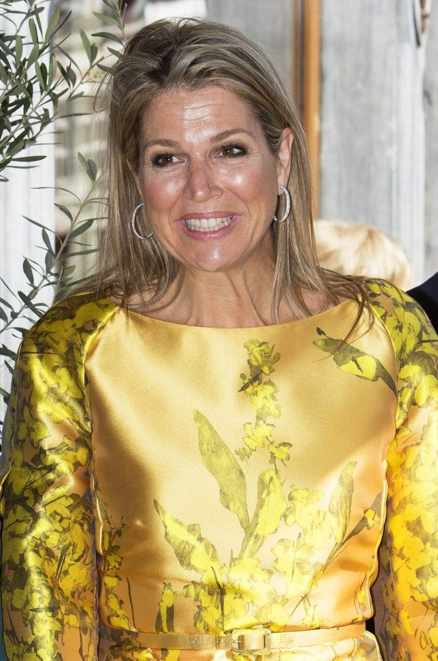 La reine Maxima des Pays-Bas, le 3 juillet 2019 en visite à Breda