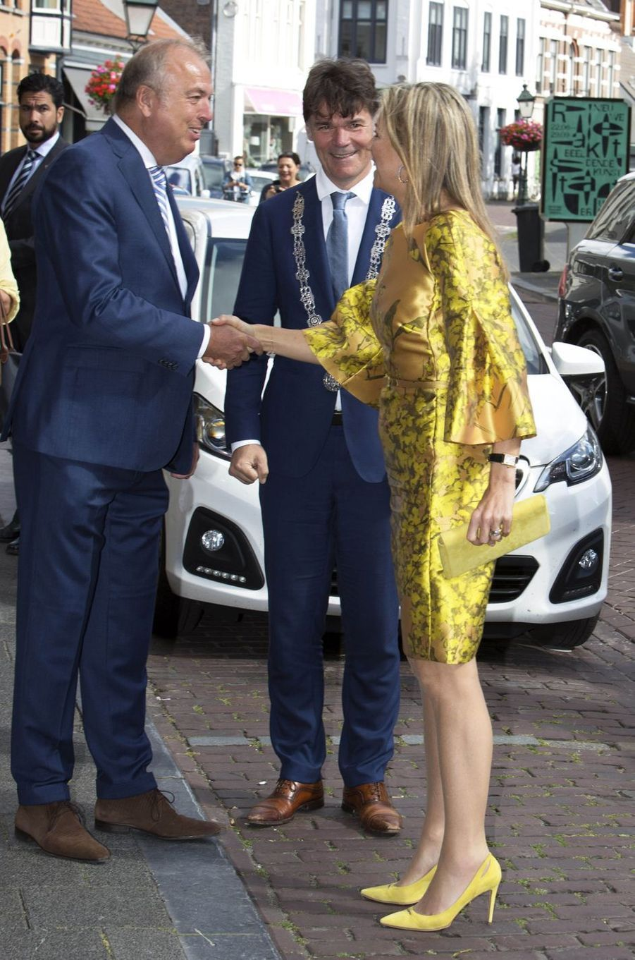 La reine Maxima des Pays-Bas en Natan à Breda, le 3 juillet 2019
