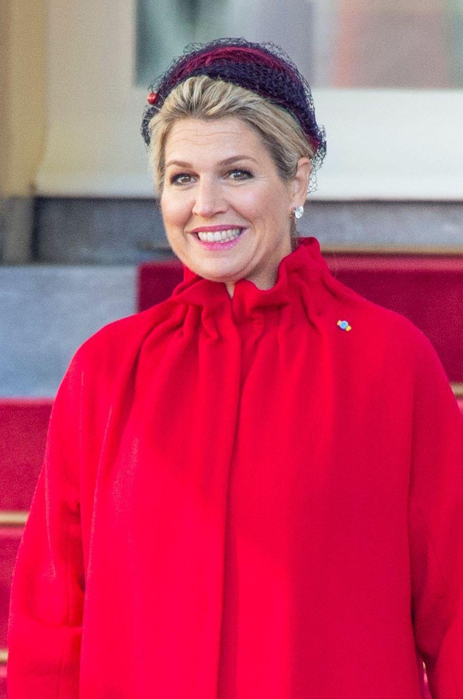 La reine Maxima des Pays-Bas à La Haye, le 29 octobre 2019