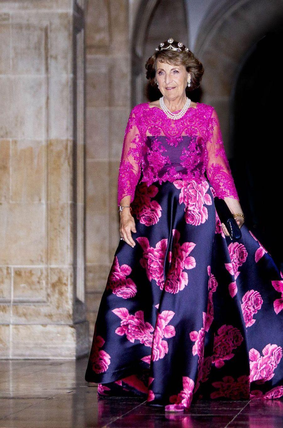La princesse Margriet des Pays-Bas à Amsterdam, le 9 avril 2019