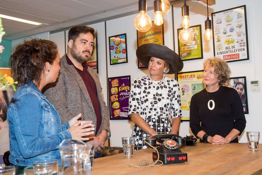 La reine Maxima des Pays-Bas à Utrecht, le 5 septembre 2019