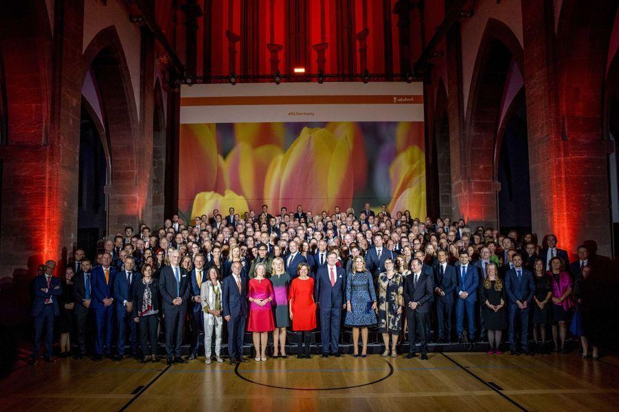 La reine Maxima et le roi Willem-Alexander des Pays-Bas à Trèves, le 10 octobre 2018