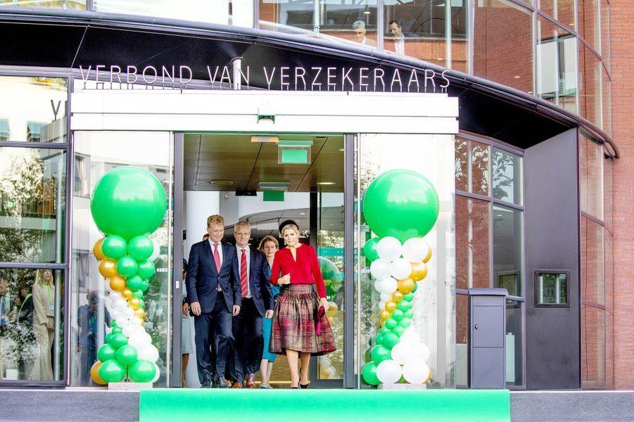 La reine Maxima des Pays-Bas, le 17 octobre 2018 à La Haye