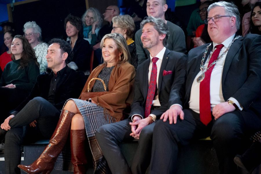 La reine Maxima des Pays-Bas à Nimègue, le 8 janvier 2020