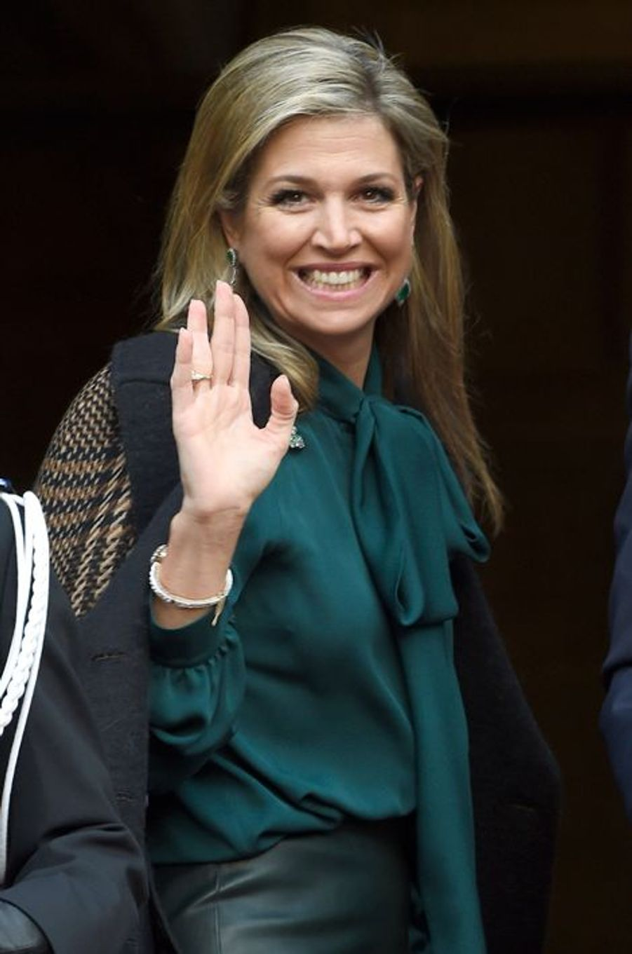 La reine Maxima des Pays-Bas à Amsterdam, le 12 janvier 2016