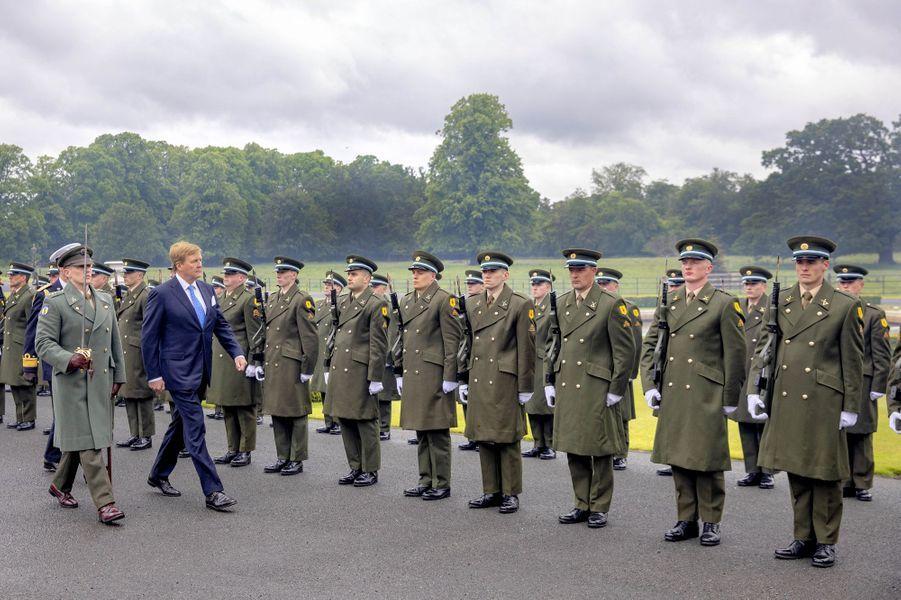 Le roi Willem-Alexander des Pays-Bas à Dublin, le 12 juin 2019