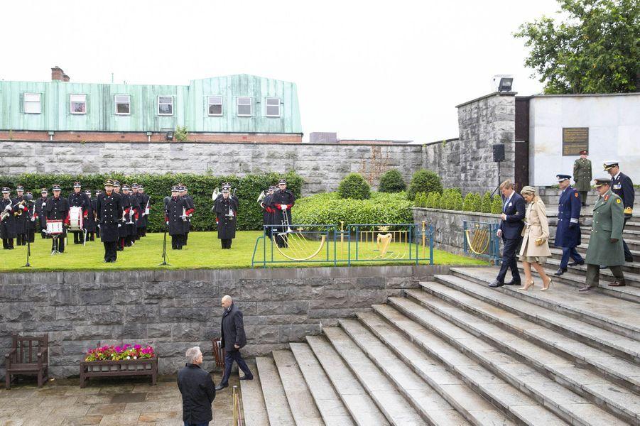 La reine Maxima et le roi Willem-Alexander des Pays-Bas à Dublin, le 12 juin 2019