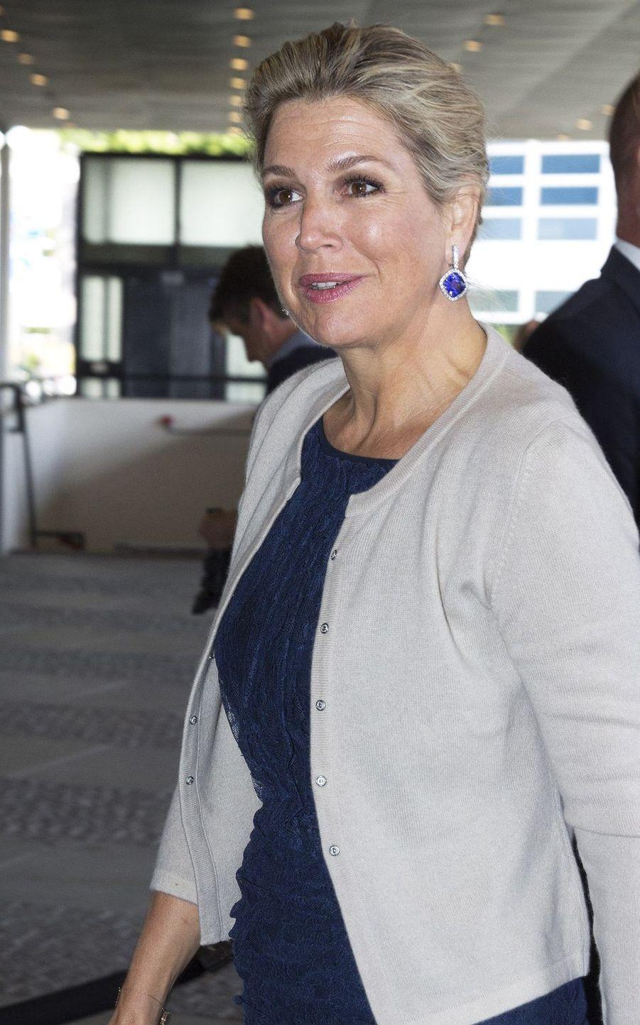 La reine Maxima des Pays-Bas, le 4 juillet 2019 à La Haye