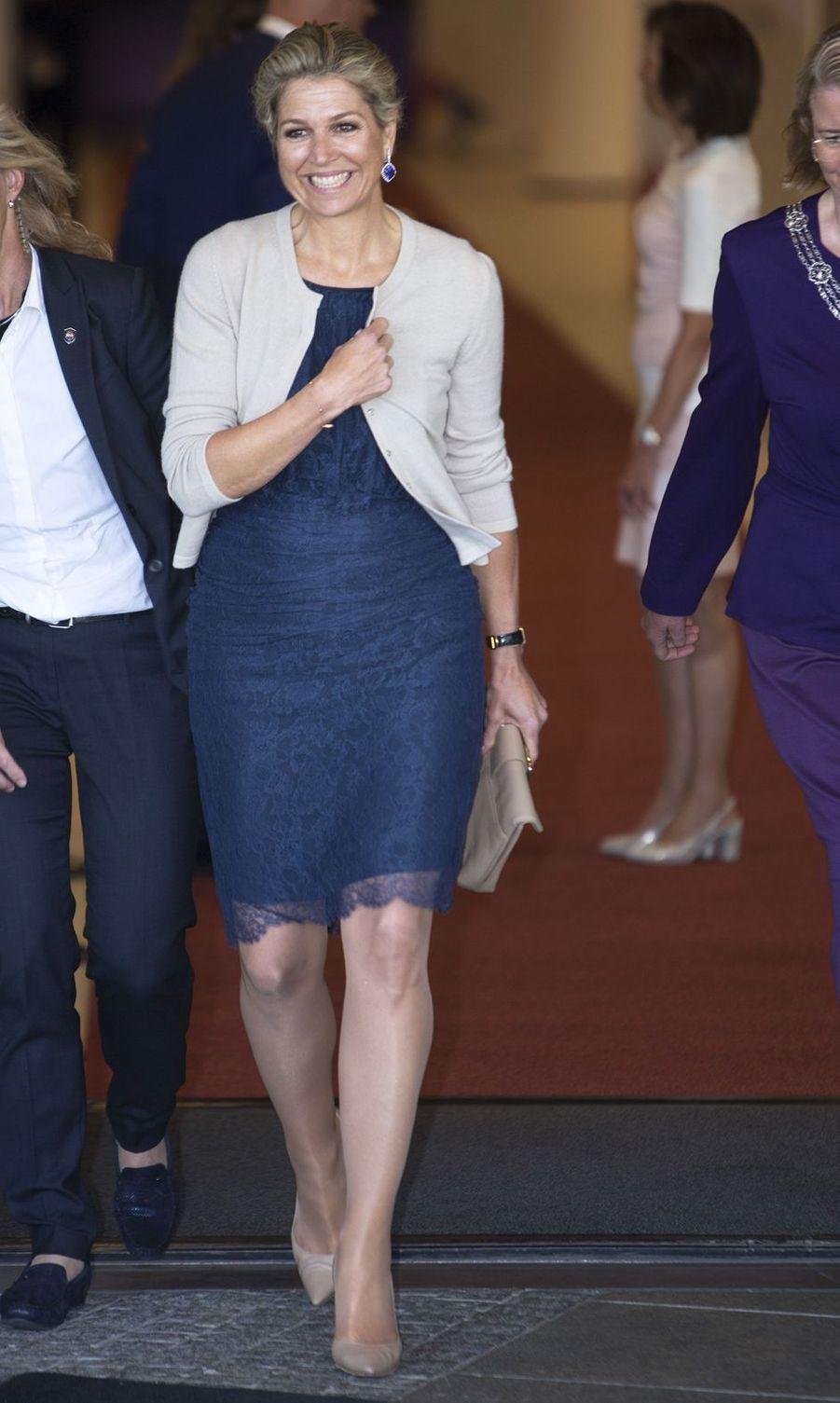 La reine Maxima des Pays-Bas à La Haye, le 4 juillet 2019