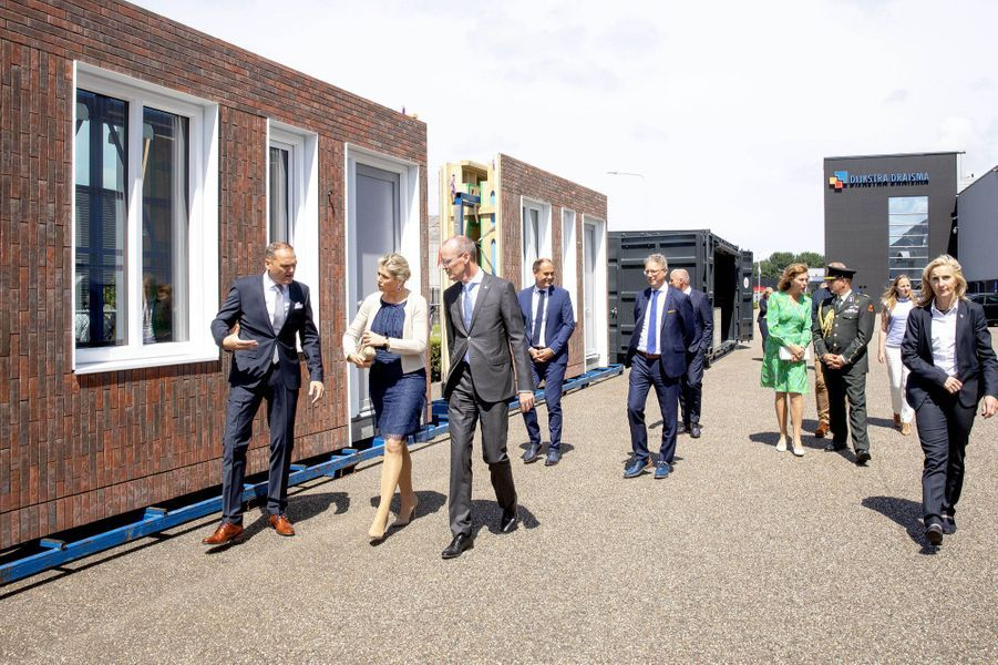 La reine Maxima des Pays-Bas à Dokkum, le 4 juillet 2019