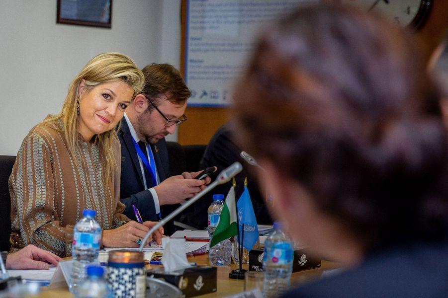 La reine Maxima des Pays-Bas à Islamabad, le 25 novembre 2019