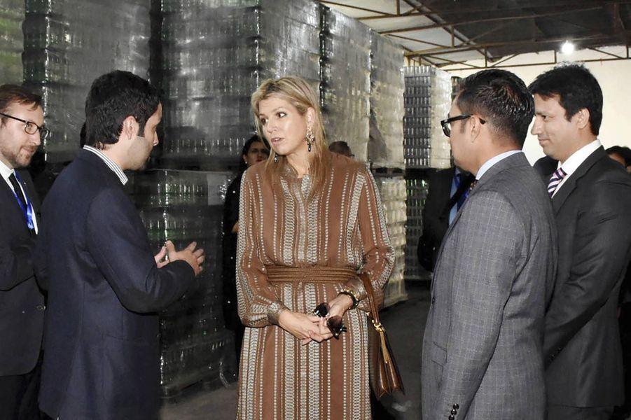 La reine Maxima des Pays-Bas à Islamabad au Pakistan, le 25 novembre 2019