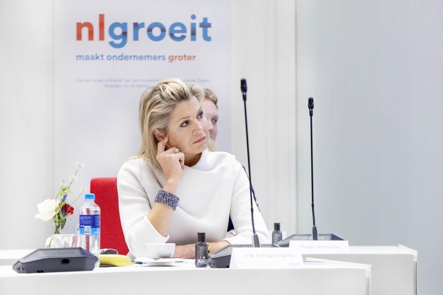La reine Maxima des Pays-Bas à Gouda, le 2 décembre 2020