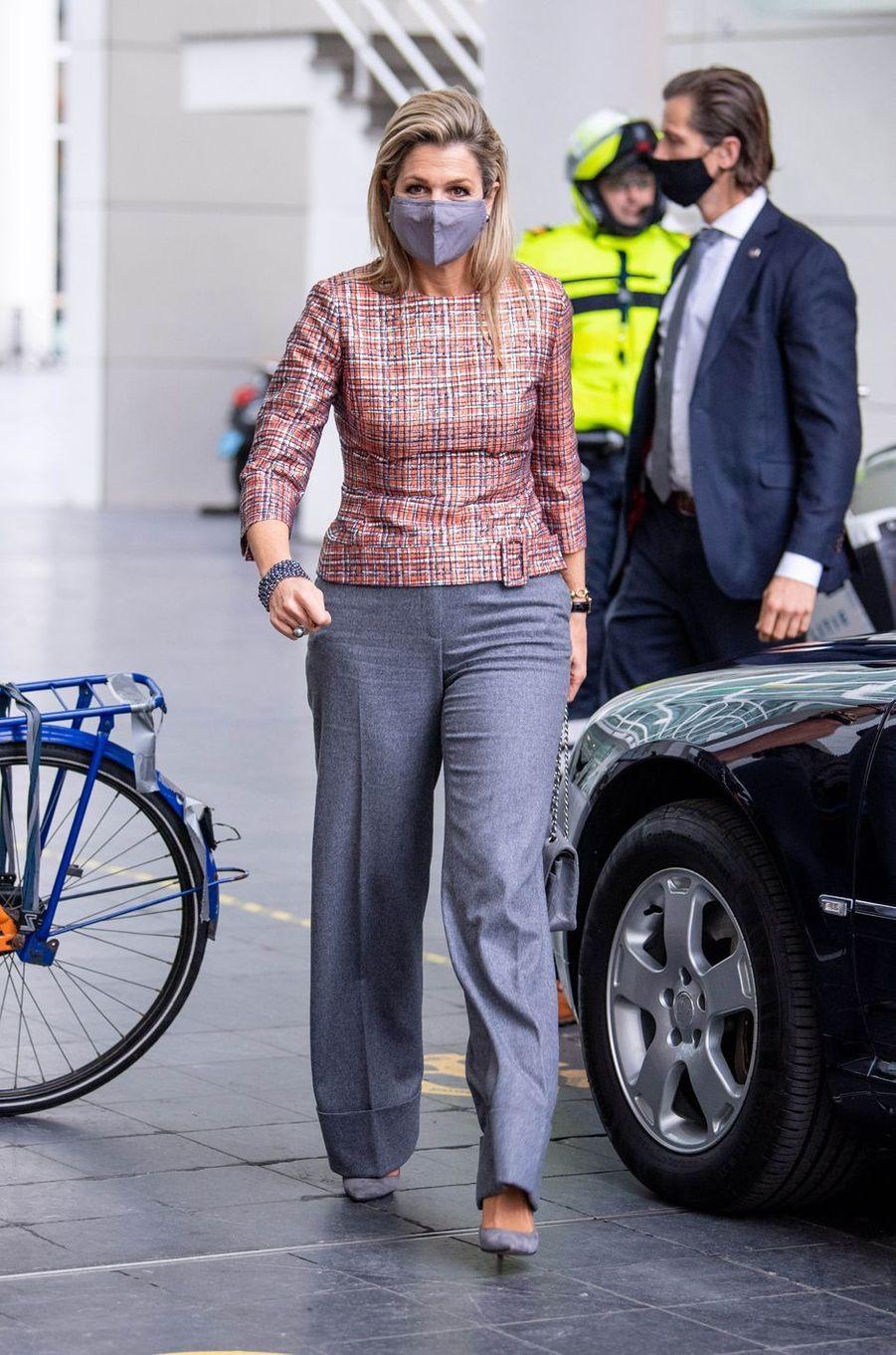 La reine Maxima des Pays-Bas à La Haye, le 2 décembre 2020