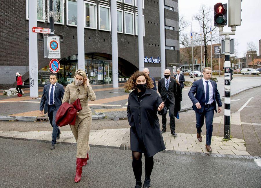 La reine Maxima des Pays-Bas à Nimègue, le 1er décembre 2020